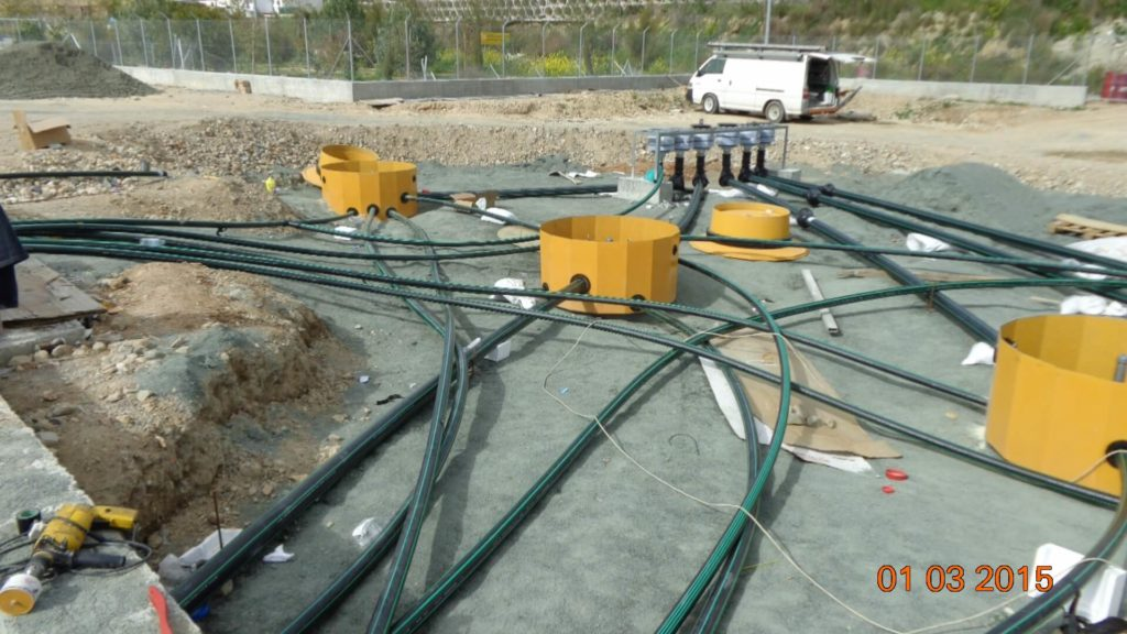 Site Build - Fuel Filling Depot